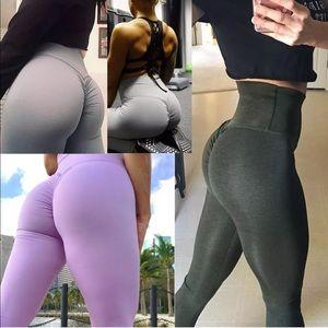 Pants - Butt Lift Pants High Waist Yoga CompressionLegging